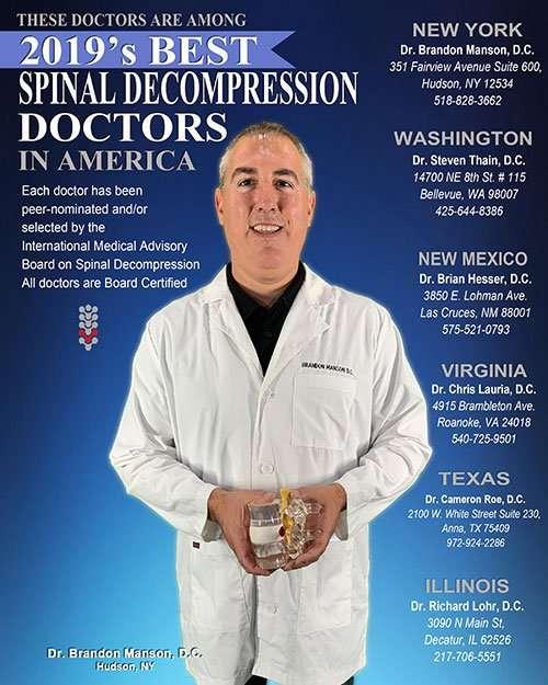 Dr Manson on magazine cover